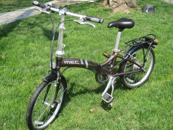 SOLD – Folding Bike for Sale – Toronto or St. Catharines