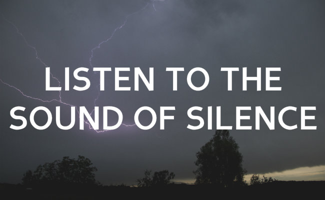 Silence in the Sound