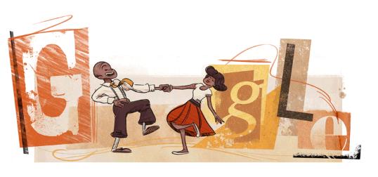 Frankie Manning honoured in Google Doodle
